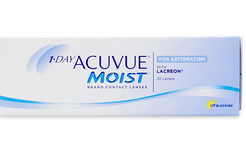 1 Day Acuvue Moist - Astigmatism - 30 Pack