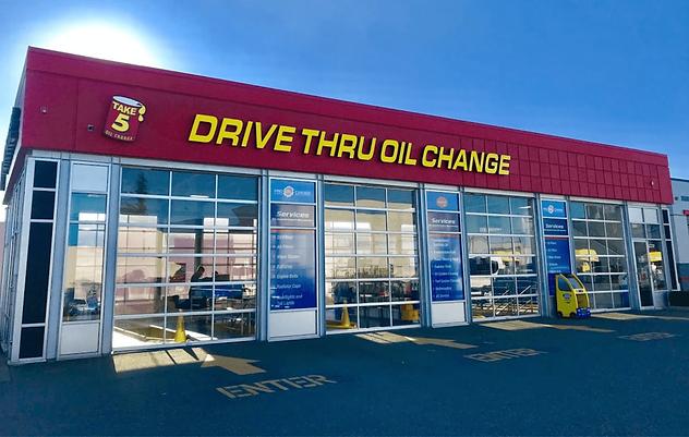 Take 5 Oil Change Langley - Shop Exterio
