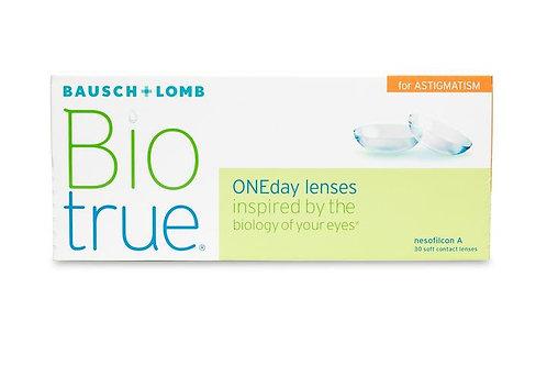 Biotrue ONEday for Astigmatism - 30 Pack