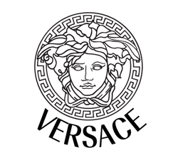 Eye Optometry - Versace Logo Eyeglasses