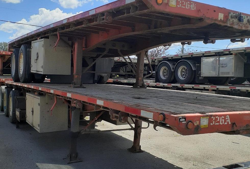 2013 Lode King Super B Flat Deck - Units 326 A&B