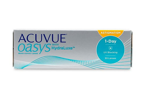 Acuvue Oasys 1 Day for Astigmatism - 30 Pack
