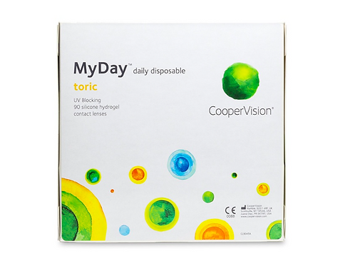 MyDay Toric daily disposable - 90 Pack