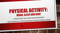 Benefits of physical activity, NEAT, non-exercise activity thermogenesis, presentation, ppt