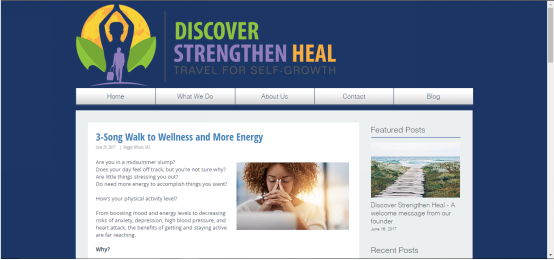 Guest Blog at Discover Strengthen Heal!
