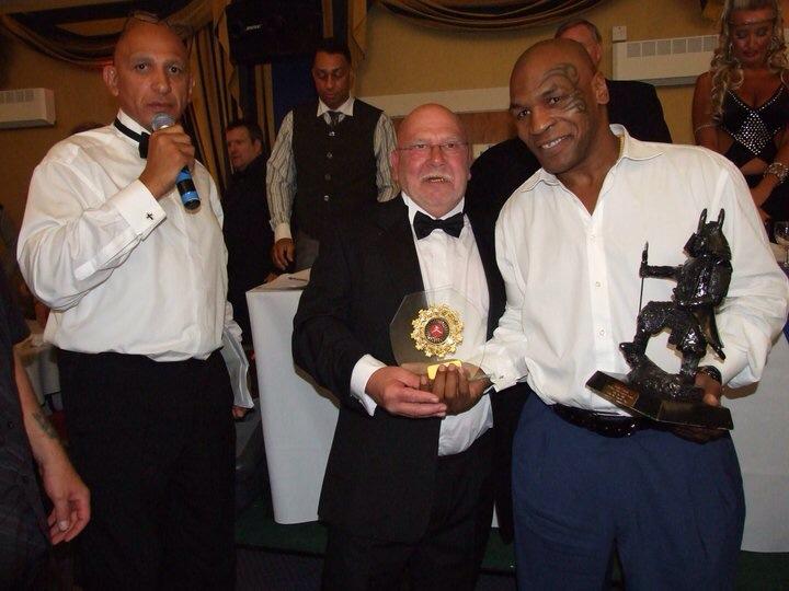 Award with Tyson
