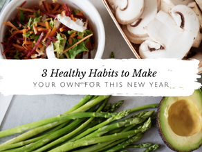 3 Simple Ways to Create Healthy Change This Year