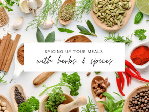 Spicing Up Your Meals with Different Herbs/Spices