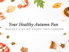 Your Healthy Fall Fun Bucket List is Here!