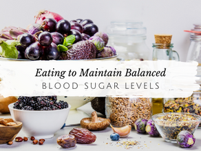 Eating To Maintain Balanced Blood Sugar Levels