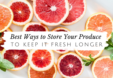 Store Your Produce And Keep It Fresh Longer