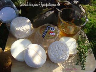 Crottins de chèvre panés & figues fondantes au miel