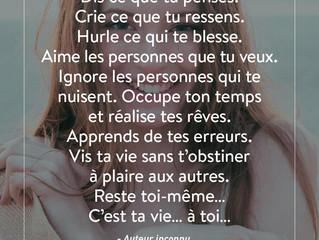 C'est ta vie
