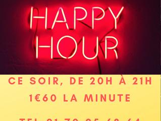 Happy hour, c'est ce soir !!!!!