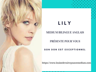 Lily, médium internationale