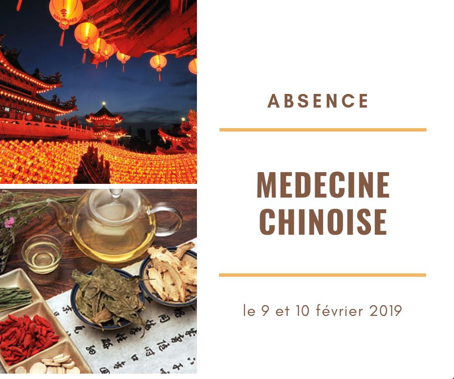 Formation de médecin traditionnel chinois