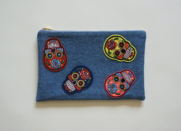 Sugar Skull Bag Light Wash