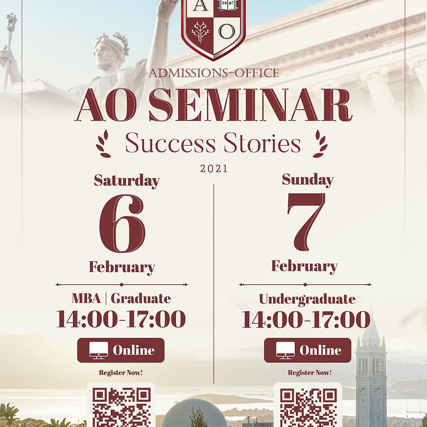 AO Online Seminar : Success Stories