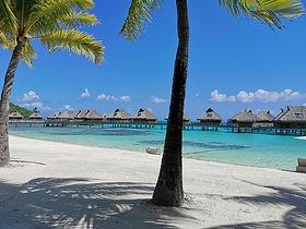 Polynésie Bungalows pilotis Tahiti