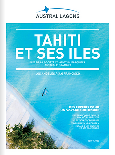 Catalogue Austral Lagon Tahiti et ses îles