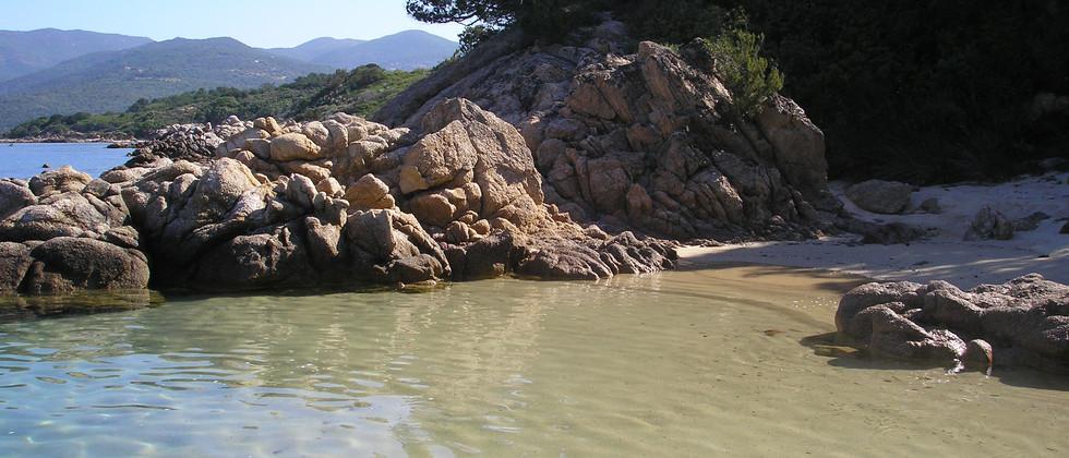 Corse plage