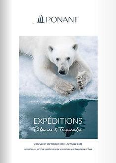 Brochure Ponant Croisières d'expéditions