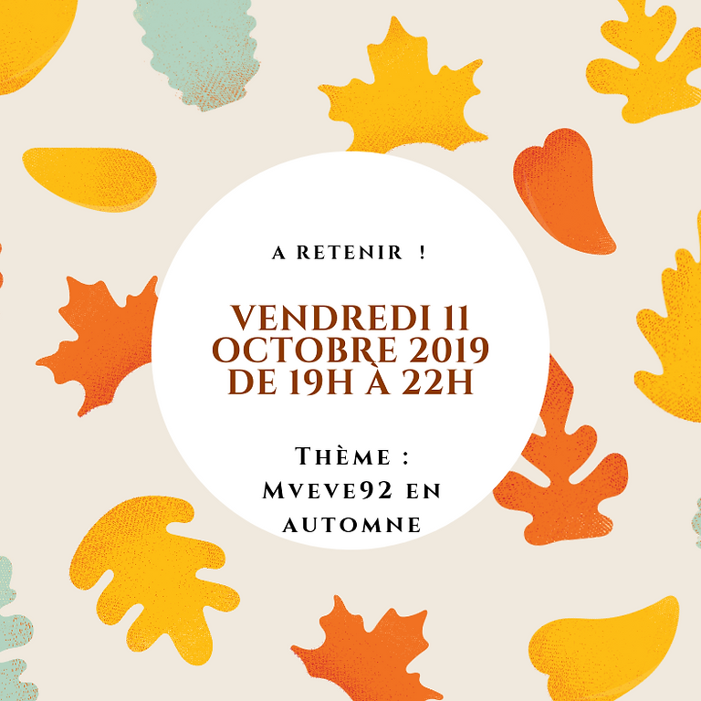 Réunion Octobre 2019