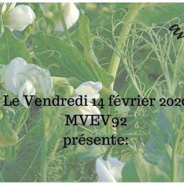 """""""La Fleur des Pois"""" et La St Valentin chez MVEV92 !"""