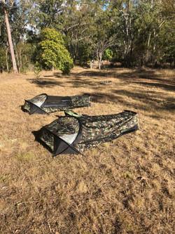 Camping at Struck Oil