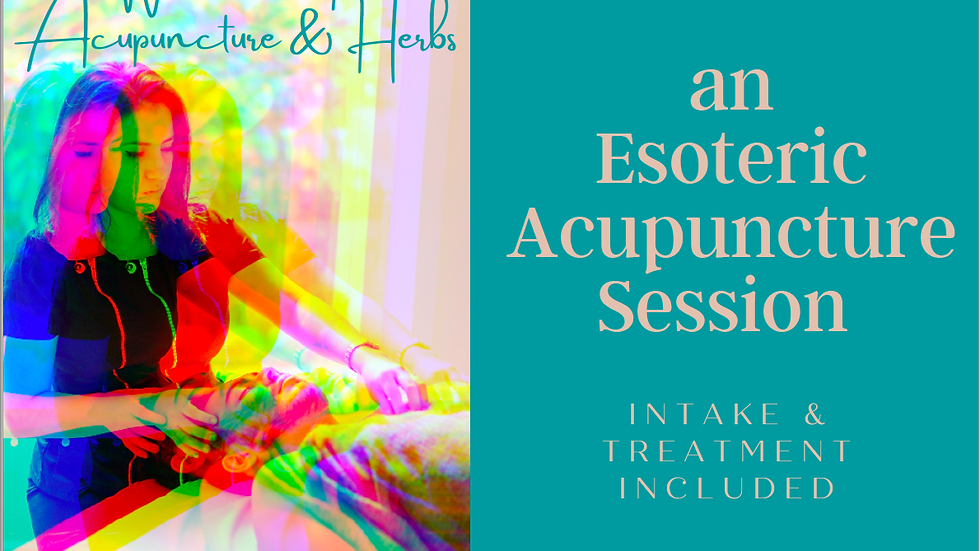 Esoteric Acupuncture Gift Certificate