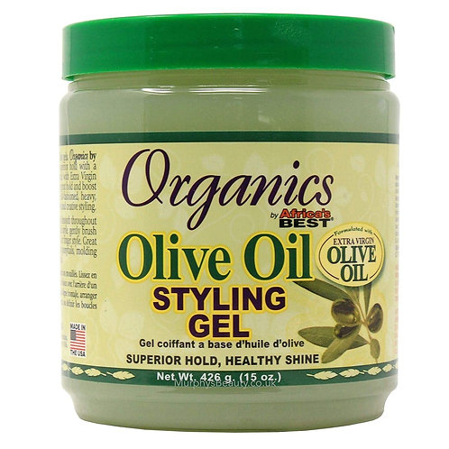 AFRICA'S BEST EXTRA VIRGIN OLIVE OIL STYLING GEL 15 OZ