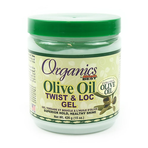 AFRICA'S BEST EXTRA VIRGIN OLIVE OIL LOC/TWIST CREAM 15 OZ