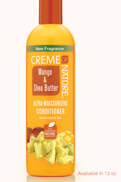 CREME OF NATURE CNI MANGO AND SHEA BUTTER CONDITIONER 12 OZ