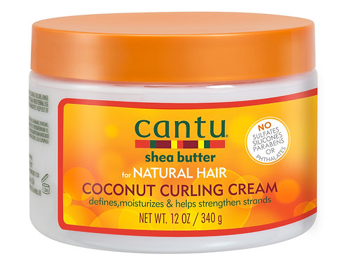 CANTU NATURAL HAIR COCONUT CURL CREAM 12 OZ