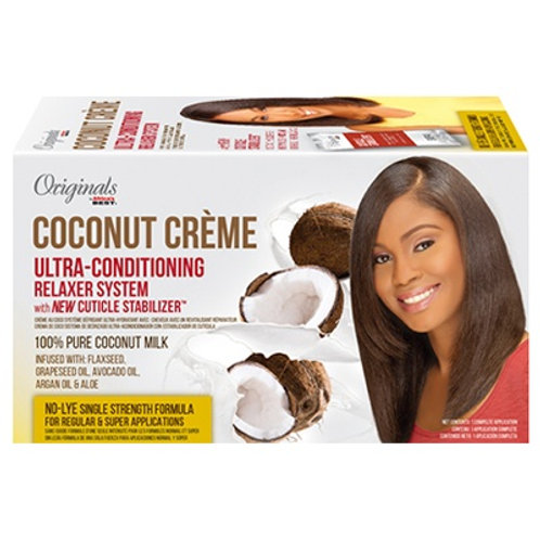 AFRICA'S BEST COCONUT CREME 29 PIECE DISPLAY KIT/MAINT