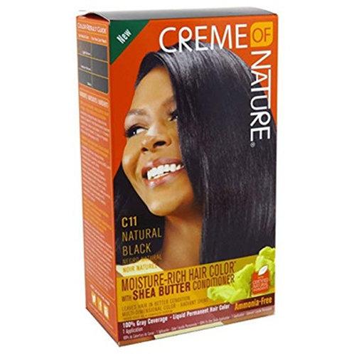CREME OF NATURE CNI LIQUID HAIR COLOR #11 NATURAL BLACK