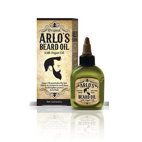 ARLO'S BEARD OIL 2.5 OZ ARGAN
