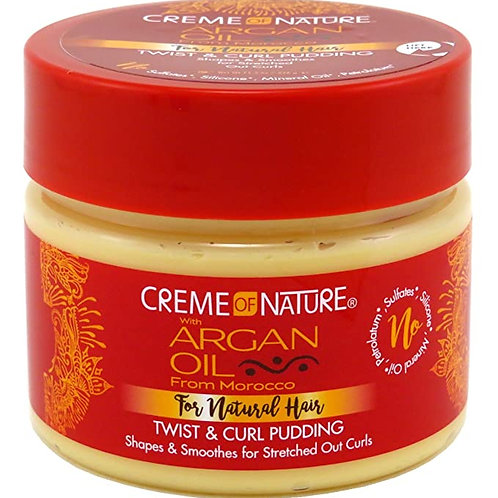 CREME OF NATURE ARGAN OIL PUDDING PERFECT 11.5 OZ