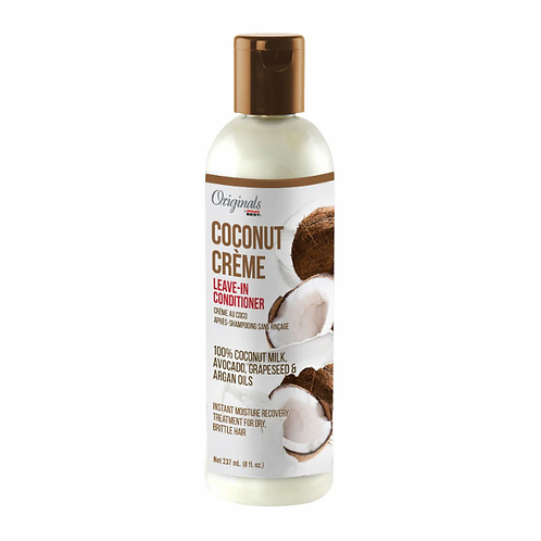 AFRICA'S BEST COCONUT CREME LEAVE-IN CONDITIONER 8 OZ