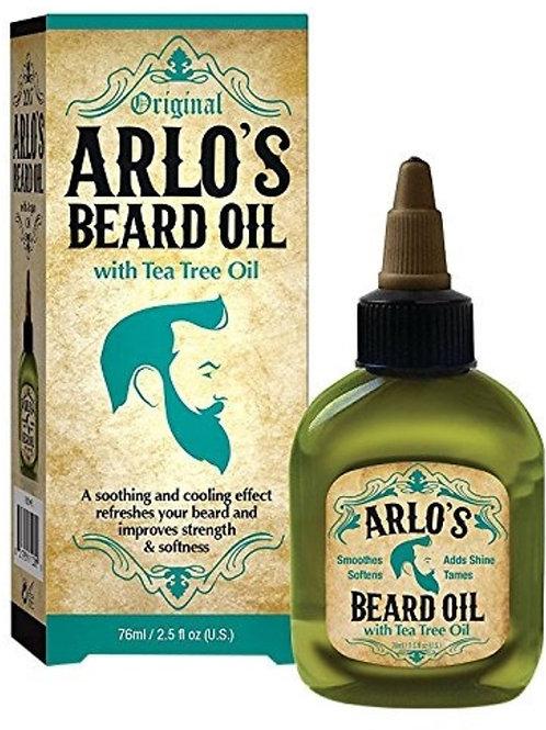 ARLO'S BEARD OIL 2.5 OZ TEA TREE