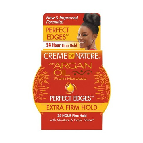 CREME OF NATURE ARGAN EDGES GEL 2.25 OZ EXTRA HOLD