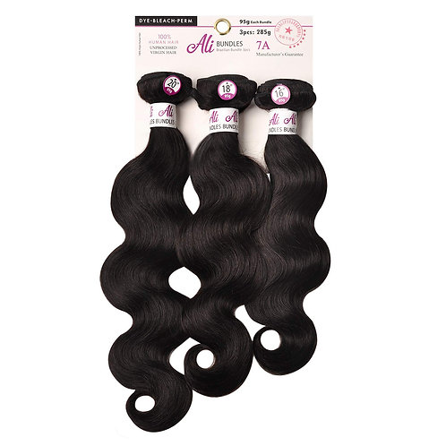7A Brazilian Bundle 3pcs - Body Wave