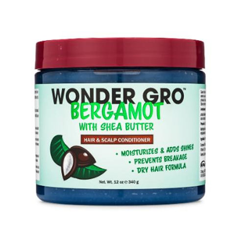 WONDER GRO BERGAMOT CONDITIONER 12 OZ SHEA BUTTER
