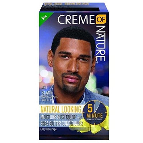 CREME OF NATURE CNI MENS LIQUID HAIR COLOR #3 JET BLACK