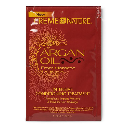 CREME OF NATURE ARGAN OIL COND TREATMENT PACKETTE