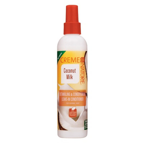 CREME OF NATURE CNI COCONUT MILK LEAVE IN SPRAY 8.45 OZ