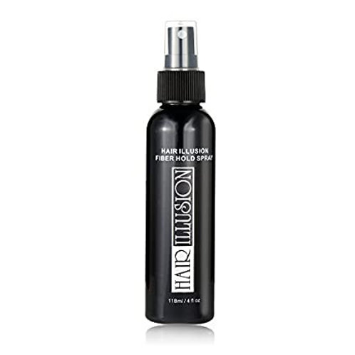 HAIR ILLUSION FIBER HOLD 4 OZ WATER RESISTANT SPRAY