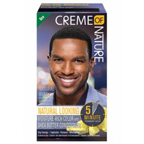 CREME OF NATURE CNI MENS LIQUID HAIR COLOR #1 NATURAL BLACK