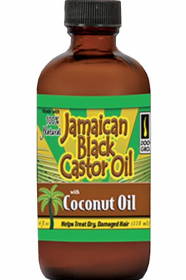 DOO GRO JAMAICAN BLACK CASTOR OIL 4 OZ COCONUT OIL