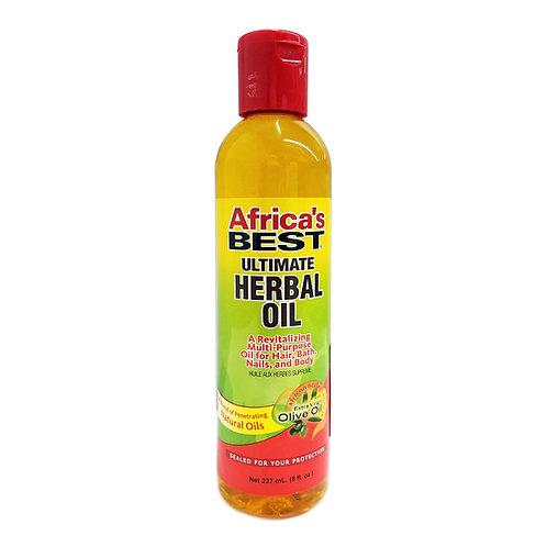 AFRICA'S BEST ULTIMATE HERBAL OIL 8 OZ